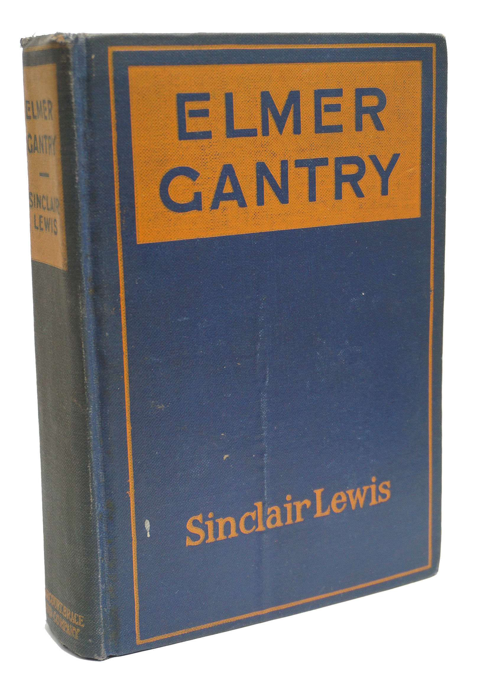 an analysis of the novel elmer gantry by sinclair lewis Elmer gantry [sinclair lewis, jason stevens] on amazoncom  this was  followed by the two novels considered by many to be his finest, babbitt (1922)  and.