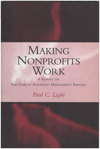 Making Nonprofits Work  A Report on the Tides of Nonprofit Management Reform