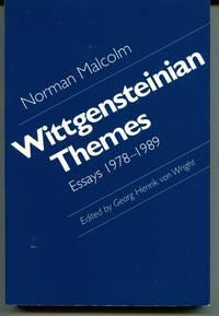 Wittgensteinian Themes. Essays 1978-1989. Edited by Georg Henrik von Wright.