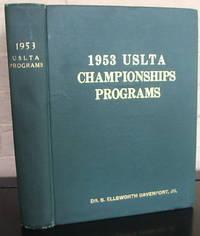 USLTA Official Tennis Championships Programs  - 1953 Edition.