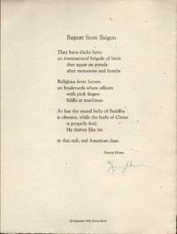 Report from Saigon