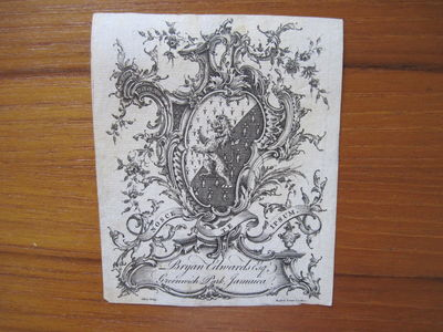 Eighteenth Century Engraved Jamaica...