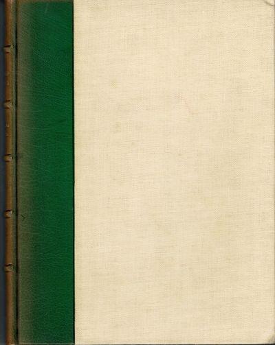 London: Golden Cockerel Press, 1943. First edition. Hardcover. Orig. quarter green morocco and white...