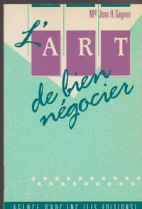 """L'art de bien ne?gocier (Collection """"Droit et affaires"""") (French Edition)"""