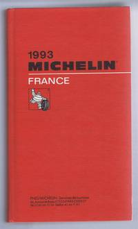1993 Michelin Red Guide France