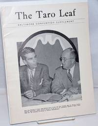 image of The Taro Leaf: Baltimore Convention Supplement [September 1948?]