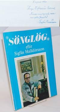 image of Songlog eftir Sigfus Halldorsson