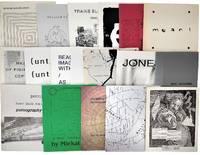 Collection of 18 Generator Press Chapbooks