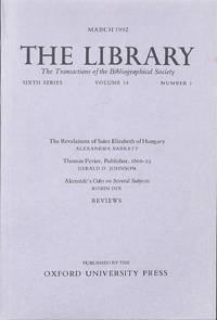 Thomas Pavier Publisher, 1600-25