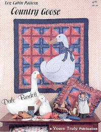 Country Goose Log Cabin Pattern