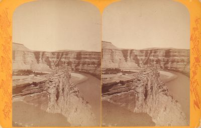 Very Good. Powell Survey stereoview likely by John K. Hillers although not marked as such. Bright ye...