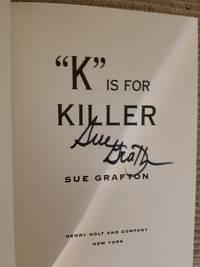 K is for Killer (SIGNED)