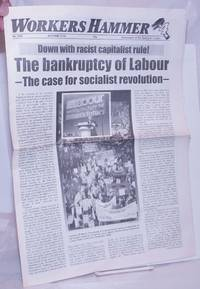 image of Workers Hammer: Newspaper of the Spartacist League[Britain] 2009, Autmn, No. 208