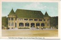 image of View of Table Rock House, Entrance to Scenic Tunnel, Niagara Falls, Ontario, Canada on ca. 195s White Border Postcard