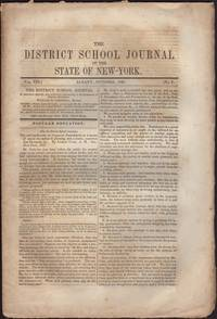 image of District School Journal of the State of New York. Vol. VIII, No. 7 & 8