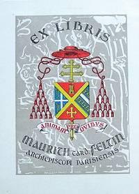 image of Ex-Libris France. Cardinal Maurice Felcin
