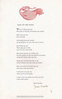 TALK IN THE DARK [caption title]
