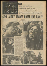 LOS ANGELES FREE PRESS; Gene Autry Trafes Horse For Ham [Headline] by  Arthur (Ed.) Kunkin - 1969 - from Alta-Glamour Inc. (SKU: 85599)