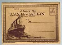 (Ephemera)  Aboard the U. S. S. Leviathan Souvenir Folder