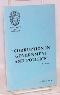 image of Corruption in Government and Politics