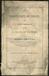 image of The Constituents of Climate, with Special Reference to the Climate of Florida.  Pamphlet