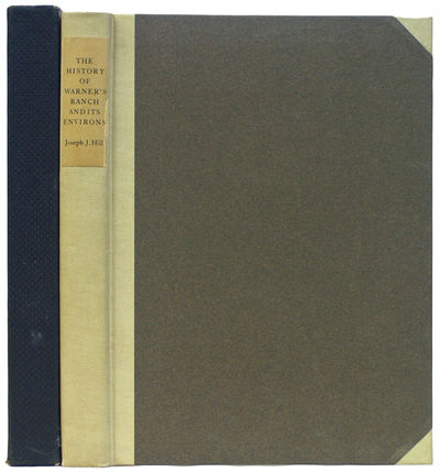 Los Angeles: Privately Printed, 1927. First edition. Three quarter cloth over paper covered boards. ...