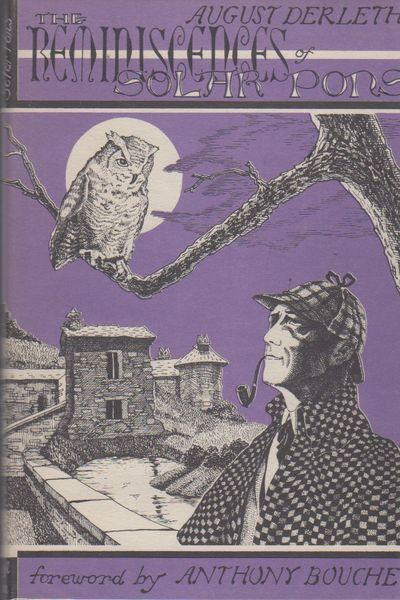 Sauk City, Wisconsin: Mycroft & Moran, 1961. First Edition Thus . 8vo., purple and black pictorial D...