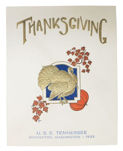 (n.p.), 1933. 1st Printing. Off white card stock, self wrappers. Embossed upper wrapper printed in o...