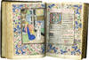 BOOK OF HOURS (USE OF ROME); illuminated manuscript on parchment in Latin