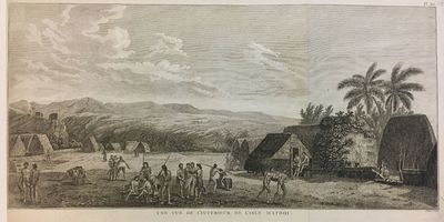 Paris, 1785. Engraving. 9 x 18 1/4 inches. Margin trimmed to neat line on left, folded as issued. Li...