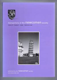 Transactions of the Newcomen Society for the study of the history of Engineering & Technology. Vol. 78, no.2 - 2008