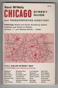 Rand McNally Chicago Street Guide and Transportation Directory