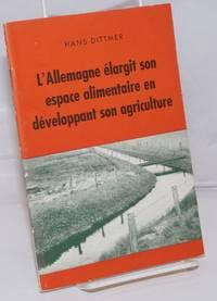image of L'Allemagne elargit son espace alimentaire en developpant son agriculture