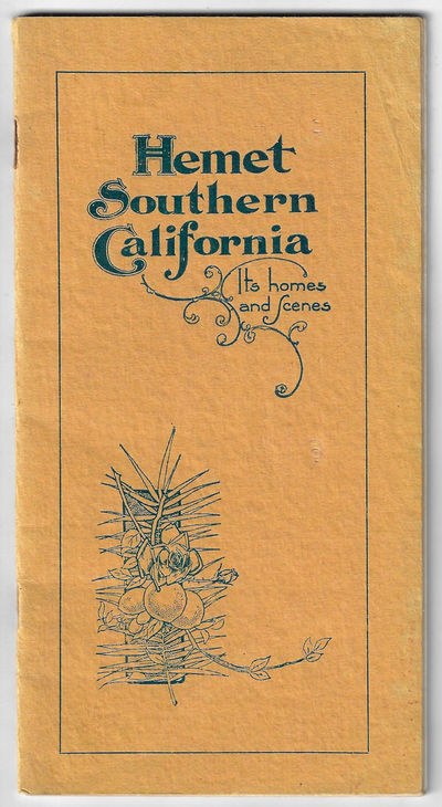 Hemet Land Company, 1902. Softcover. Very good. 7.5 x 4 inches, 39 pp, with many illustrations from ...