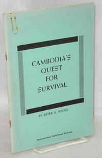 image of Cambodia's quest for survival