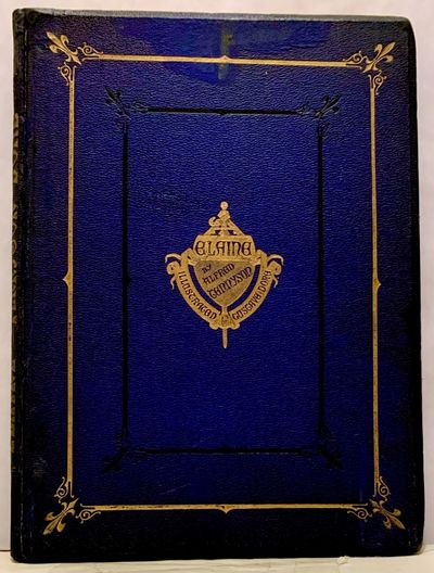 London: E. Moxon, Son, & Co, 1867. First edition. leather_bound. Orig. publisher blue morocco, recta...