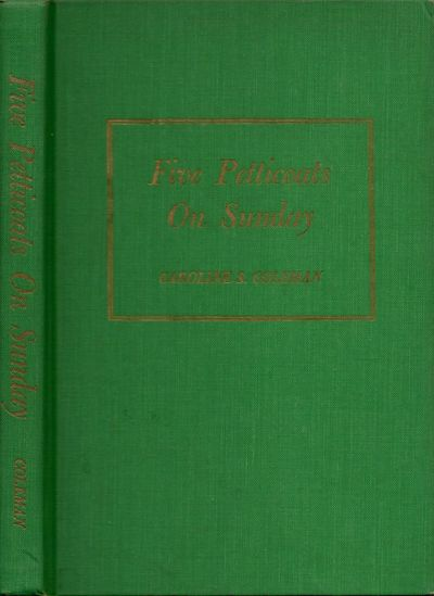Greenville, South Carolina: Hiott Press, 1962. First Edition. Hardcover. Good. Octavo. xv, 145 pages...