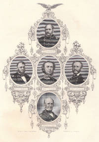 image of Original Engraving Union Naval Commanders from the War with the South
