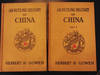 An Outline History of China - Signed Two Volume Set, 1st Edition