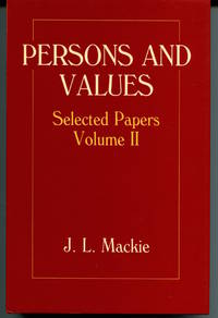 Persons and Values. Selected Papers Volume 2.