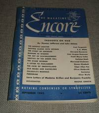 image of The Magazine Encore for September 1942