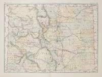 Rand, McNally & Co.'s New Business Atlas Map of Colorado.