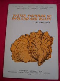 OYSTER FISHERIES OF ENGLAND AND WALES (Laboratory Leaflet No. 31)