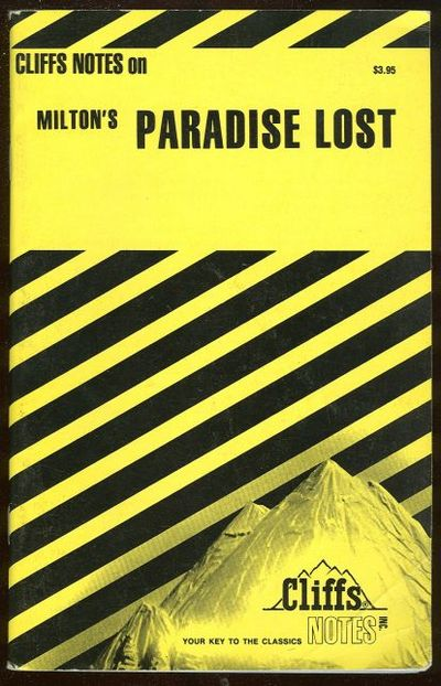 CLIFFS NOTES ON MILTON'S PARADISE LOST, Flannagan, Roy