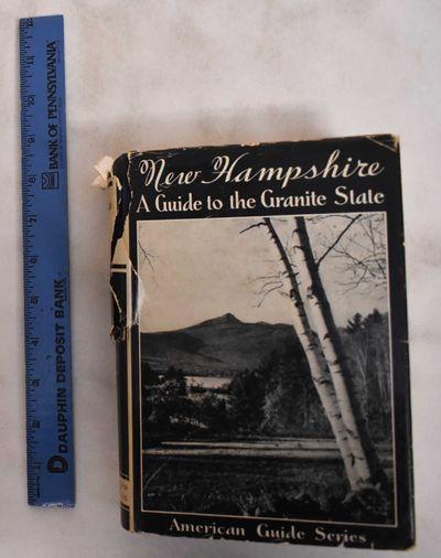 Boston, Massachusetts: Houghton Mifflin and Company, 1938. Hardcover. Good+/Fair. spine edges scuffe...