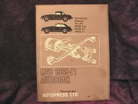 image of Workshop Manual for MGB 1969-71. Autobook for MGB GT 1969-71