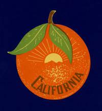 California.  [LUGGAGE LABEL]