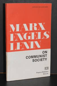 image of Marx, Engels, Lenin; On Communist Society; A Collection