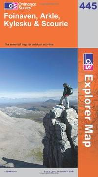 image of Foinaven, Arkle, Kylesku and Scourie (OS Explorer Map Series)