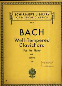 BACH- Well-Tempered Clavichord for the Piano Book 1